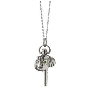 Monica Rich Kosann mini elephant pocketwatch